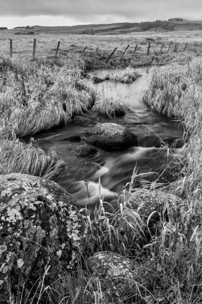 Aubrac, France, ruisseau de Gambaise