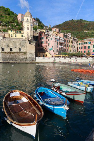 Cinque Terre, Italie, Ligurie, port de Vernazza