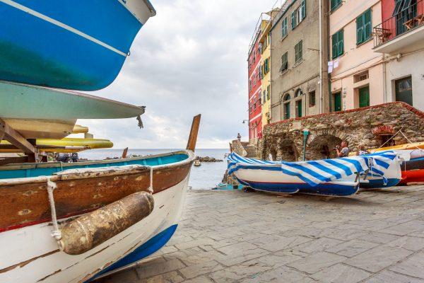 Stage photo Cinque Terre, Italie, Ligurie, port de Riomaggiore