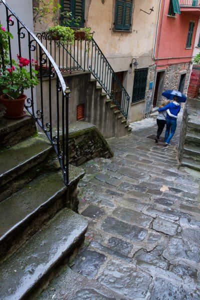 Cinque Terre, Italie, Ligurie, Corniglia, les amoureux