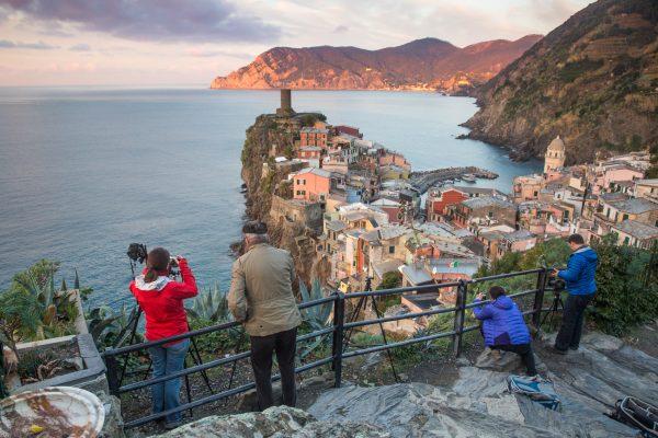 Stage photo Cinque Terre, Italie, Ligurie, photographes à Vernazza