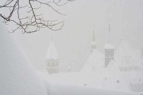 Chartreuse, Alpes, Isère, le monastère de la Grande Chartreuse