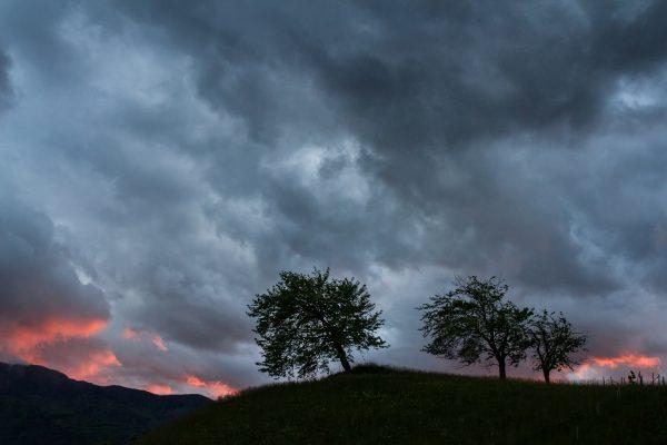 Alps, Isère, Chartreuse, l'orage