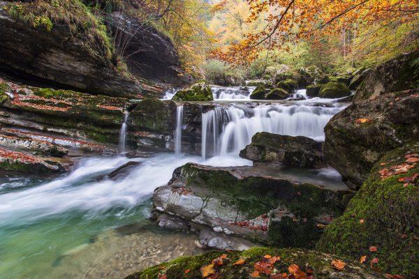 Alpes, Isère, Chartreuse, gorges du Guiers Mort