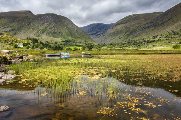 Irlande, Kerry, Iveragh peninsula, lough perdu, près de Moll's Gap