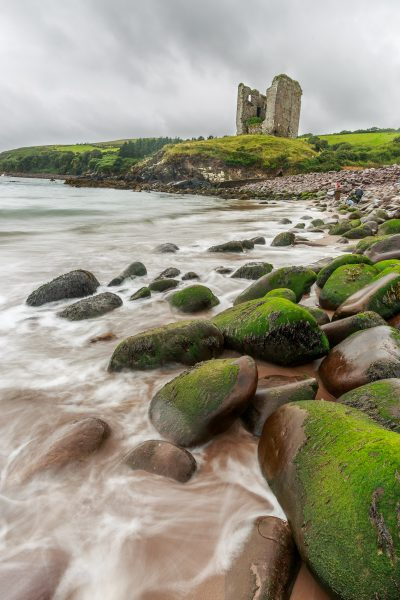 Irlande, Kerry, Dingle peninsula, Minard Castle