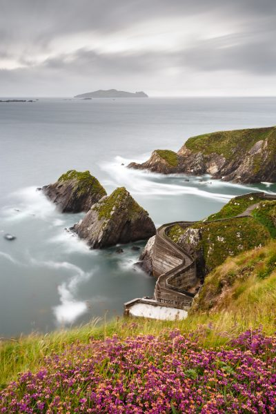 Irlande, Kerry, Dingle peninsula, Dunquin, Wild Atlantic Way