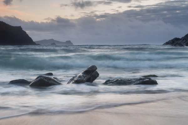 Irlande, Kerry, Dingle peninsula, Clogher Beach