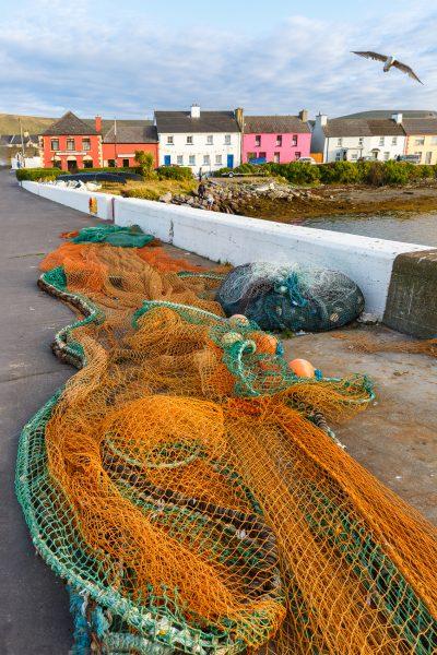 Irlande, Kerry, Iveragh peninsula, Portmagee, voyage photo Irlande