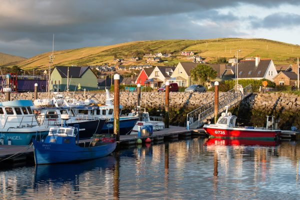 Irlande, Kerry, port de Dingle, wild atlantic way