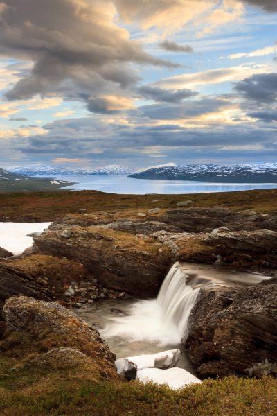 Suède, Padjelanta, Laponie, Sapmi, Vastenjaure