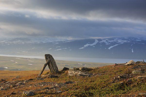 Suède, Padjelanta, Laponie, Sapmi, Padlelantaleden