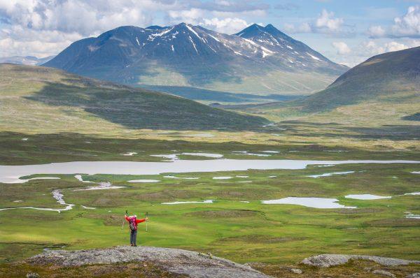 Voyage photo laponie, Suède, Padjelanta, padjelantaleden, Ahkka mountain