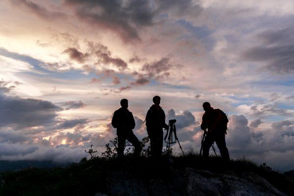 stage photo au lever du soleil, Chartreuse