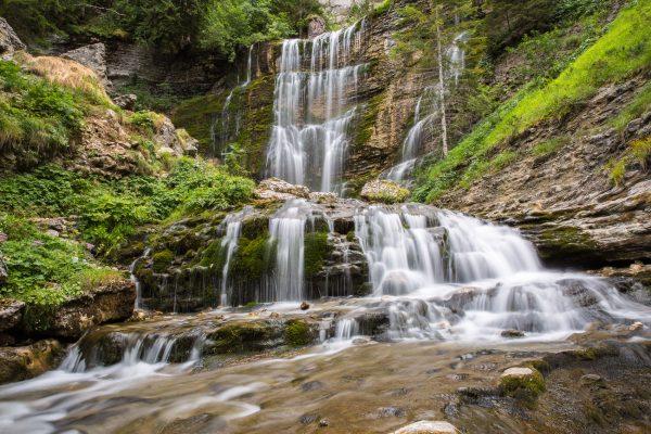 Chartreuse, Alpes, cascade du cirque de St-Même