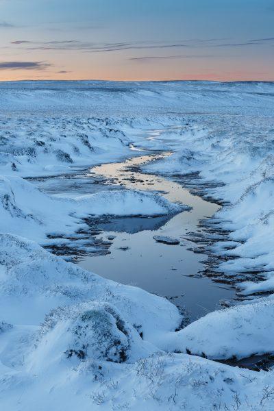 Islande, Snaefellsnes, winter, Iceland