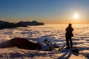 stage photo, Pointe de la Cochette, Savoie, neige, hiver, Chartreuse,