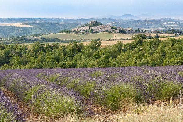 Village médiéval en Provence, Alpes de Haute-Provence