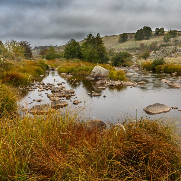 paysage d'automne en Aubrac au cours d'un stage photo