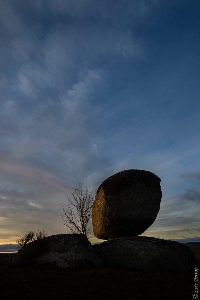 bloc granitique, Aubrac
