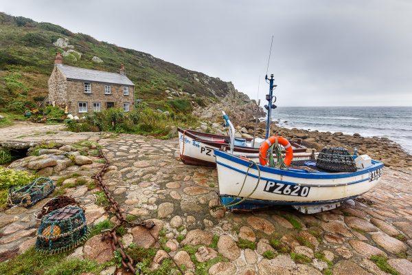 petit port de pêche, Penberth, voyage photo Cornouailles, Cornwall
