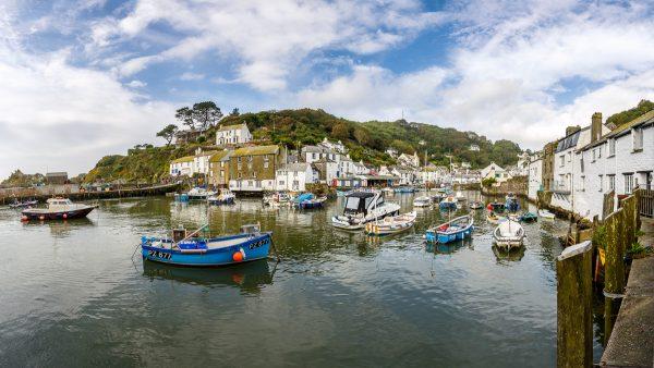petit port de pêche, Polperro, voyage photo Cornouailles, Cornwall