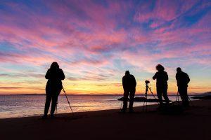 photo en pose longue au level du soleil, voyage photo Cornouailles