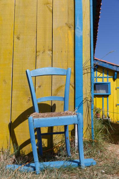 couleur des cabanes ostreicoles à l'île d'Oléron