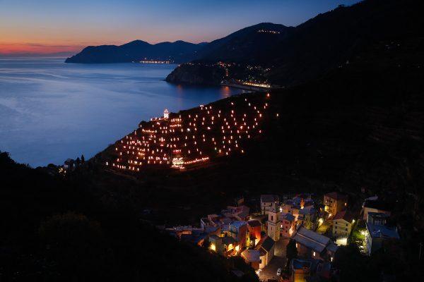 voyage photo Cinque Terre, lumières sur Manarola
