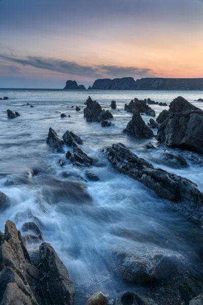 La mer à l'heure bleue, stage photo Bretagne