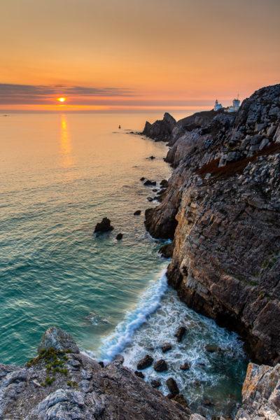 Pointe du Toulinguet en Bretagne, presqu'île de Crozon